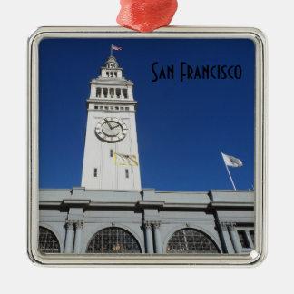 Ornamento De Metal Balsa que constrói San Francisco
