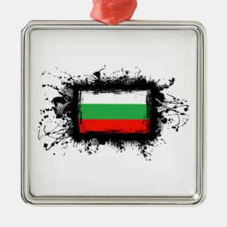 Ornamento De Metal Bandeira de Bulgária