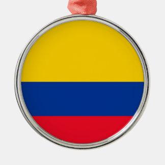 Ornamento De Metal Bandeira de Colômbia