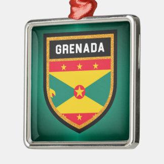 Ornamento De Metal Bandeira de Grenada