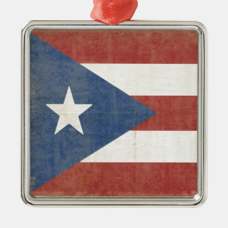 Ornamento De Metal Bandeira de Porto Rico