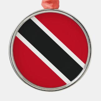 Ornamento De Metal Bandeira de Trinidadtobago