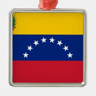 Ornamento De Metal Bandeira venezuelana - bandeira de Venezuela -