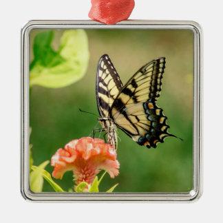 Ornamento De Metal Borboleta oriental de Swallowtail do tigre