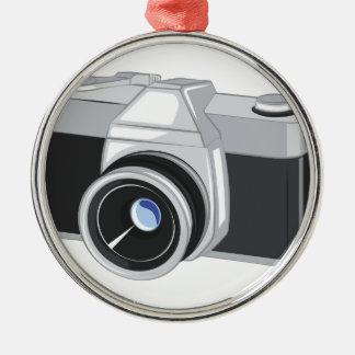 Ornamento De Metal Câmera