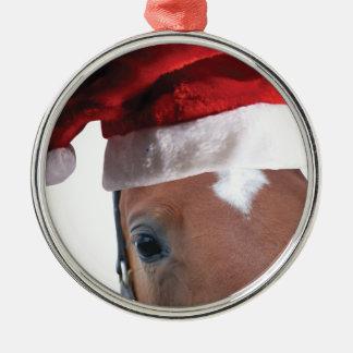 Ornamento De Metal Cavalo do Natal