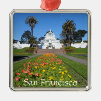 Ornamento De Metal Conservatório de San Francisco das flores