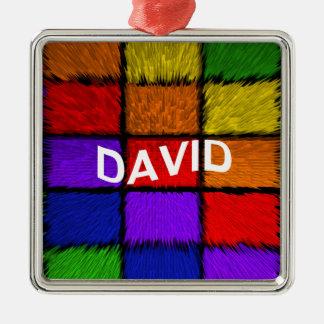 ORNAMENTO DE METAL DAVID