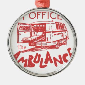 Ornamento De Metal escritório do paramédico