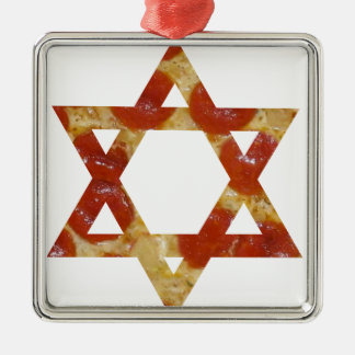 Ornamento De Metal estrela de David da pizza