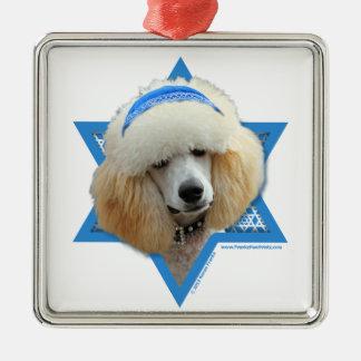 Ornamento De Metal Estrela de David de Hanukkah - caniche - abricó