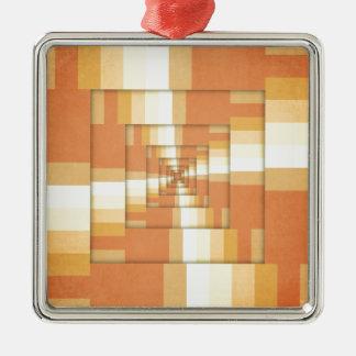 Ornamento De Metal Fatias de laranja