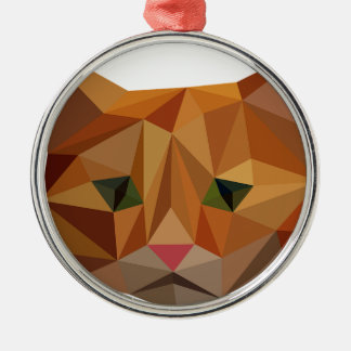 Ornamento De Metal Gatinho de Digitas