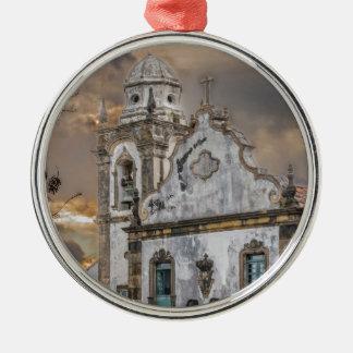 Ornamento De Metal Igreja colonial Olinda da antiguidade exterior da