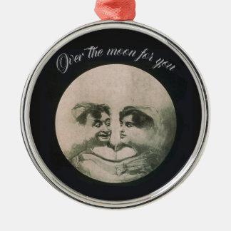 Ornamento De Metal Ilusão óptica da lua