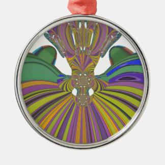 Ornamento De Metal Impressão de cores contemporâneo do design moderno
