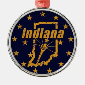 Ornamento De Metal Indiana