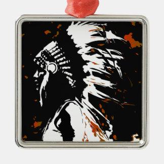 Ornamento De Metal Indiano do nativo americano