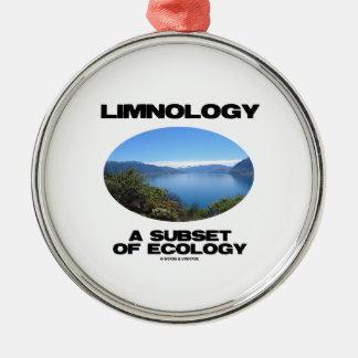Ornamento De Metal Limnologia um subconjunto da ecologia