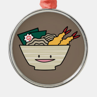 Ornamento De Metal Macarronetes do japonês do camarão do nori da