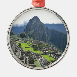 Ornamento De Metal Machu Picchu