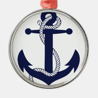 Ornamento De Metal Marinho da âncora da navigação