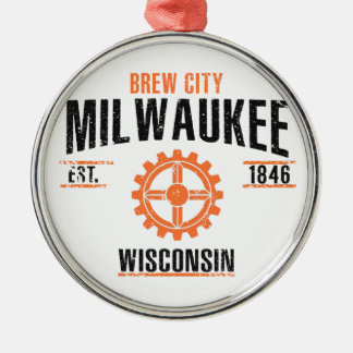 Ornamento De Metal Milwaukee
