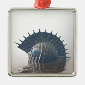 Ornamento De Metal Monstro de mar