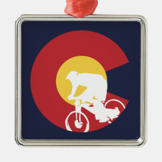 Ornamento De Metal Mountain bike Colorado