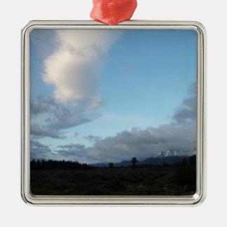 Ornamento De Metal Nuvens da manhã no parque nacional grande de Teton