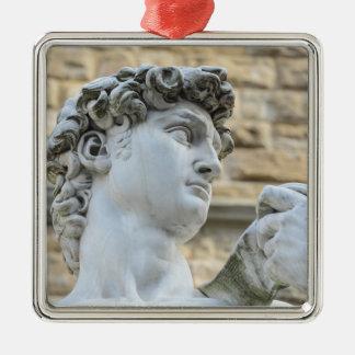 Ornamento De Metal O David de Michelangelo, Florença Italia