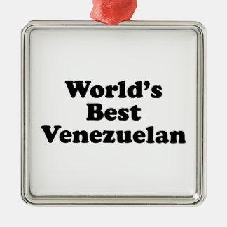 Ornamento De Metal O melhor venezuelano do mundo