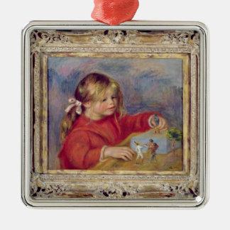Ornamento De Metal Pierre um Renoir   Claude Renoir no jogo