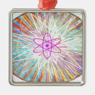 Ornamento De Metal Poder da alma: Design artístico da energia solar