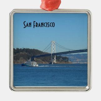 Ornamento De Metal Ponte de San Francisco Bay