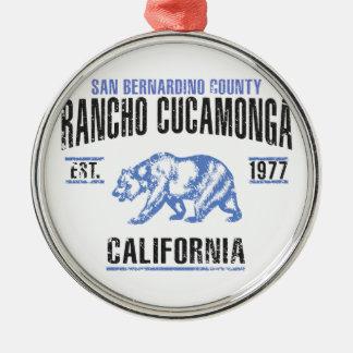 Ornamento De Metal Rancho Cucamonga