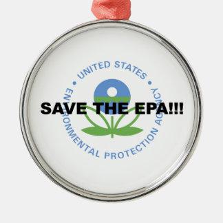 Ornamento De Metal Salvar o EPA