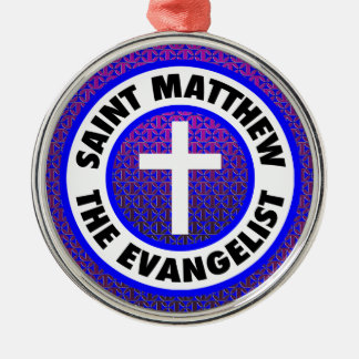 Ornamento De Metal St Matthew o evangelista