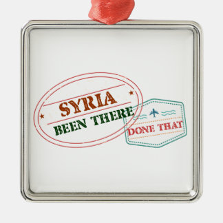 Ornamento De Metal Syria feito lá isso