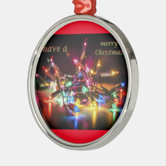 Ornamento De Metal tenha o Feliz Natal