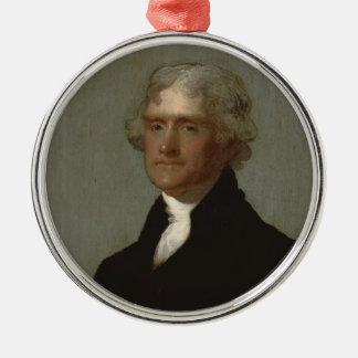 Ornamento De Metal Thomas Jefferson