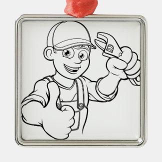 Ornamento De Metal Trabalhador manual do mecânico ou do canalizador