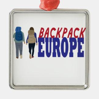 Ornamento De Metal Trouxa Europa