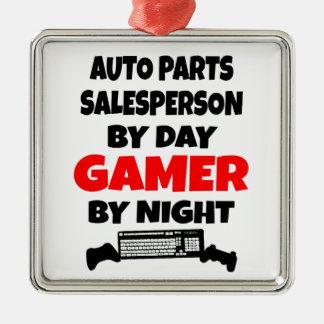 Ornamento De Metal Vendedor das peças de automóvel pelo Gamer do dia