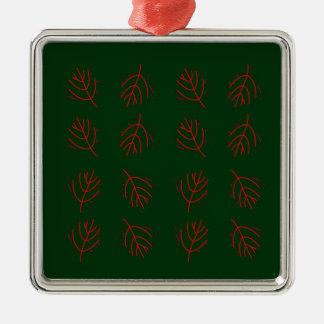 Ornamento De Metal Verde das algas