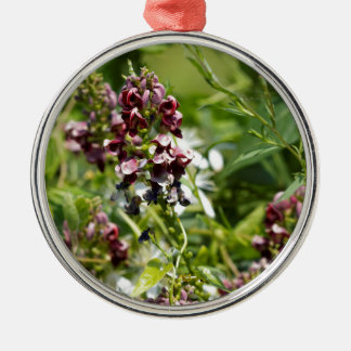 Ornamento De Metal Wildflower indiano da batata