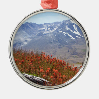 Ornamento De Metal Wildflowers de Mount Saint Helens