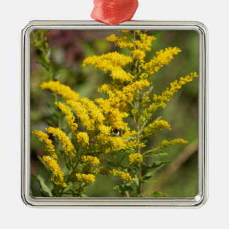 Ornamento De Metal Wildflowers Goldenrod
