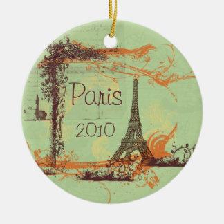Ornamento de Paris da torre Eiffel
