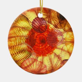 Ornamento de vidro da arte